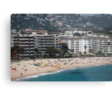 urban beach in summer Metal Print
