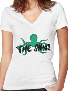 The Shins Women's Fitted V-Neck T-Shirt