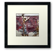 Glorious decay Framed Print