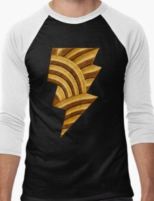 Black Injustice Men's Baseball ¾ T-Shirt