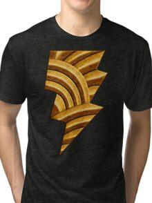 Black Injustice Tri-blend T-Shirt