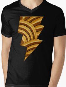 Black Injustice Mens V-Neck T-Shirt