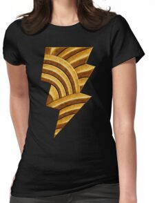 Black Injustice Womens Fitted T-Shirt