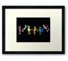 Ghostmen (and one woman?) Framed Print