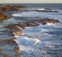 Cliffs by MelindaB