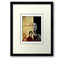 I can't get no relief Framed Print