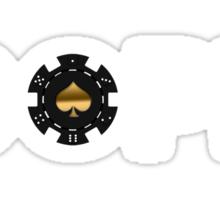 Dope Poker Chip Sticker