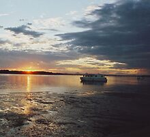 Bribie Island Sunset by Lachlan Kent