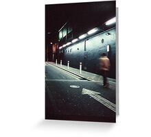 Hindley Street Alley Greeting Card