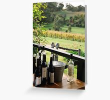Longview Winery Greeting Card