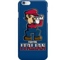 Fighting Italian iPhone Case/Skin