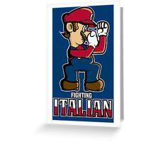 Fighting Italian Greeting Card