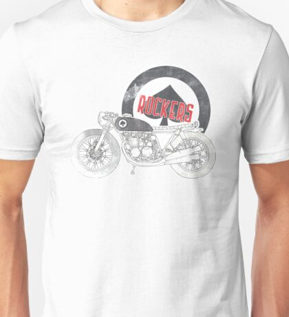 Mods VS Rockers - Rockers Unisex T-Shirt