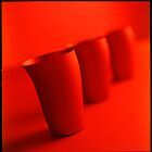 Red Cups by Teresa Gaudio