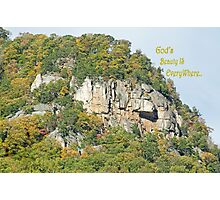 God's Beauty Is Everywhere Photographic Print