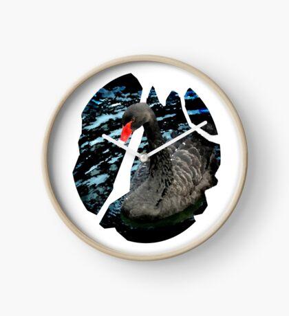 I am a black swan Clock