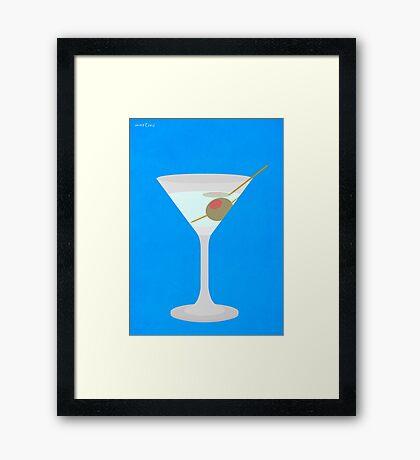 Cocktail - Martini Framed Print