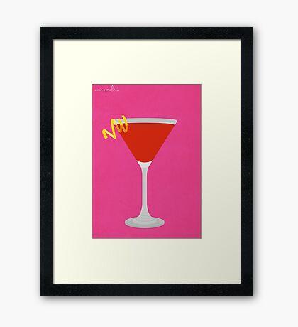 Cocktail - Cosmopolitan  Framed Print