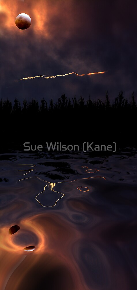 Bad moon rising by Sue Wilson (Kane)