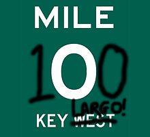 KEY LARGO:  KEY WEST GRAFITTI MILE ZERO by LeapingStoat