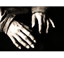 Susie's Hands Photographic Print
