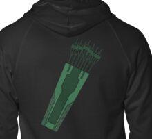 Arrow Quiver Zipped Hoodie