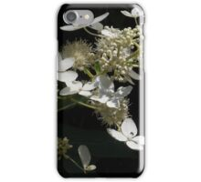 White Flower and Bee Illuminate iPhone Case/Skin