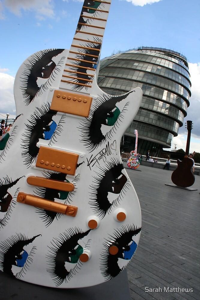Guitar with Eyes by Sarah Matthews