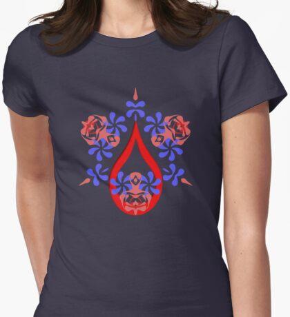 splashana Womens Fitted T-Shirt