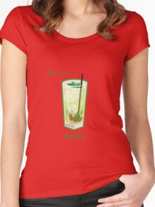 Make mine a Mojito Women's Fitted Scoop T-Shirt