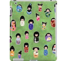 Creative Kokeshi, Kanji version iPad Case/Skin