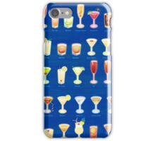 65 Classic Cocktails iPhone Case/Skin