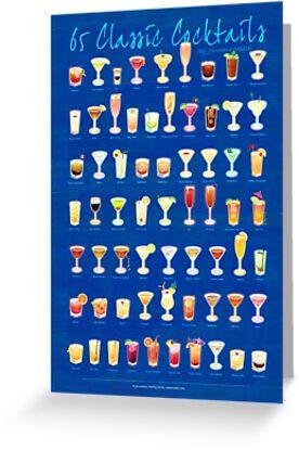 65 Classic Cocktails by Joumana Medlej