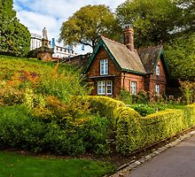 The Gardener's Cottage in the morning light. by Graeme  Ross