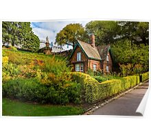 The Gardener's Cottage in the morning light. Poster