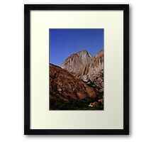 Tombs of Anja Framed Print