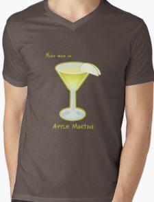 Make mine an Apple Martini Mens V-Neck T-Shirt