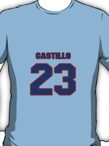 National baseball player Alberto Castillo jersey 23 T-Shirt