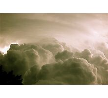 The storm Photographic Print
