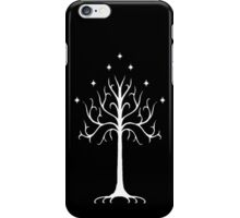 white tree of Gondor iPhone Case/Skin