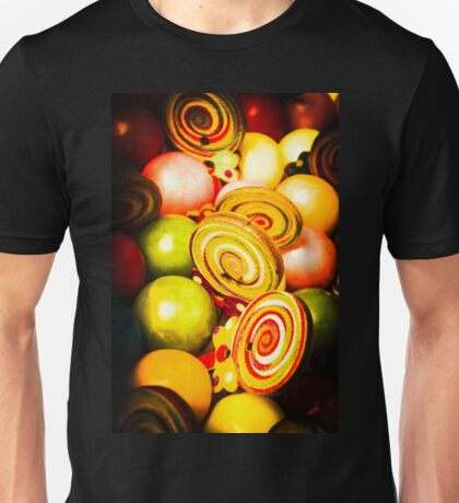 Gumdrops and candy pops Unisex T-Shirt