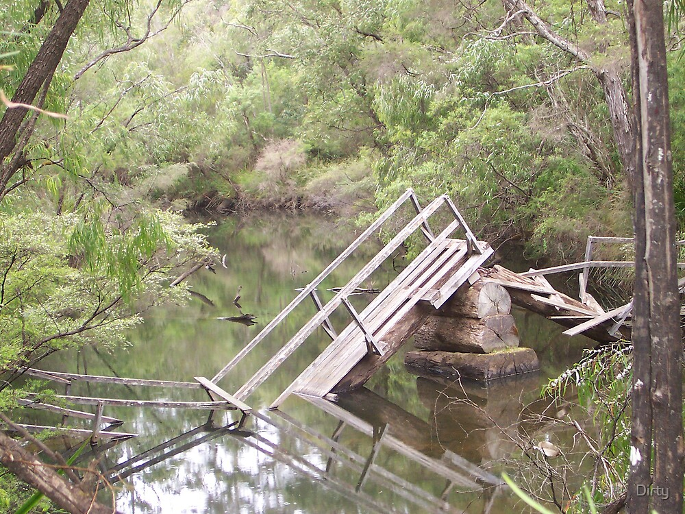 Broken Bridge photo by Dirty