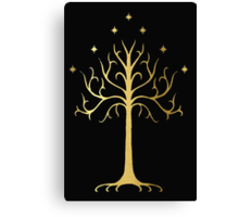 golden tree of Gondor Canvas Print