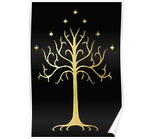 golden tree of Gondor Poster