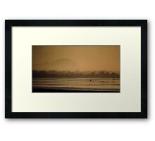 Amber Dawn Framed Print