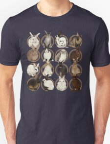 Rabbit Breeds Unisex T-Shirt