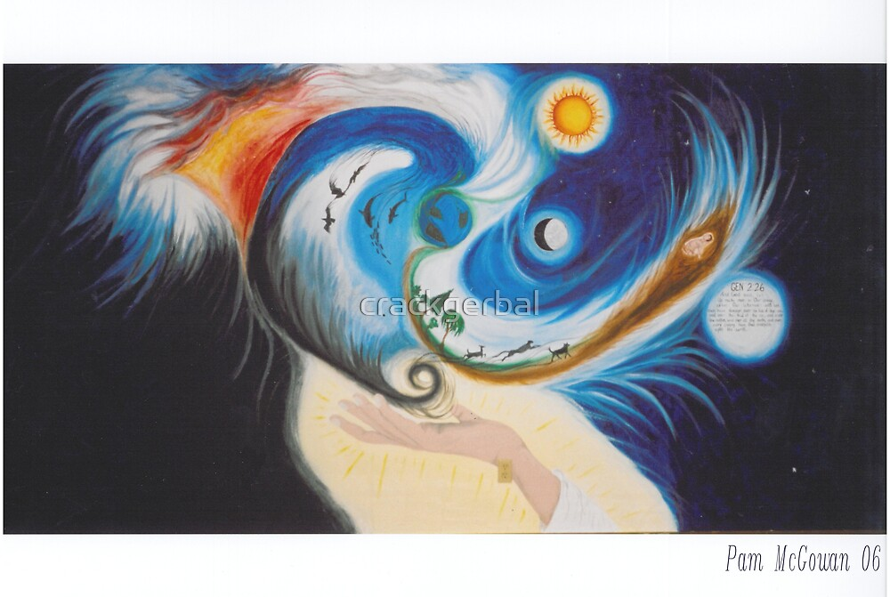 Creation Mural by crackgerbal