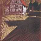 alte Scheune im Licht by HannaAschenbach