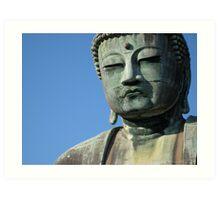 The face of meditation Art Print