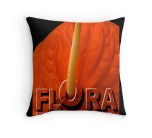 FLORA EROTICA Throw Pillow